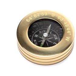 Brass Compass Paperweight
