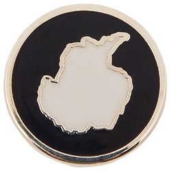 Antarctic Continent Pin Badge