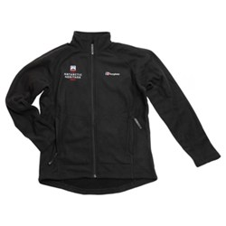 Fleece, Full Zip Black