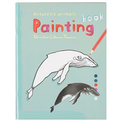 Antarctic Colouring Book