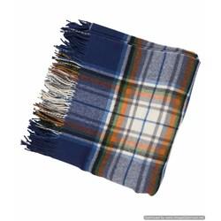 Arctic Tartan Woollen Blanket