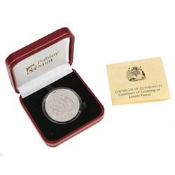 Letters Patent Silver Commemorative Coin