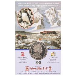 Antarctic Treaty Cupro-Nickel Commemorative Coin
