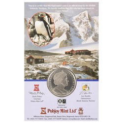 Trans-Antarctic Expedition Cupro-Nickel Commemorative Coin
