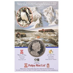 Terra Nova Expedition Cupro-Nickel Commemorative Coin