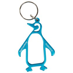 Penguin Keyring - available in two colours